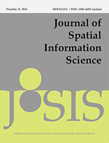 View No. 16 (2018): Special Feature on 25th GIS Research UK (GISRUK) conference
