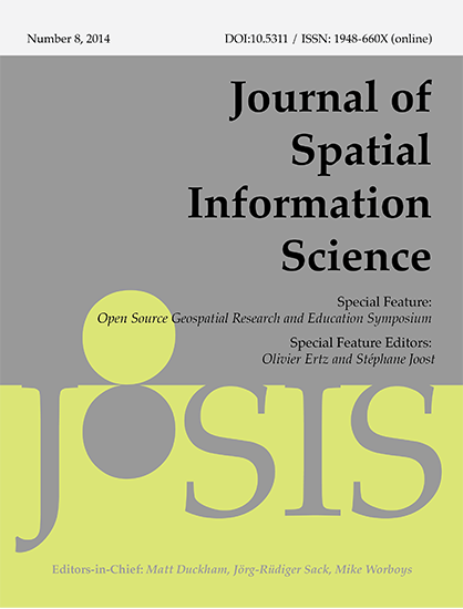 JOSIS issue 1 cover image